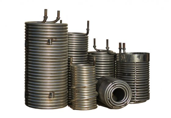 High pressure coils